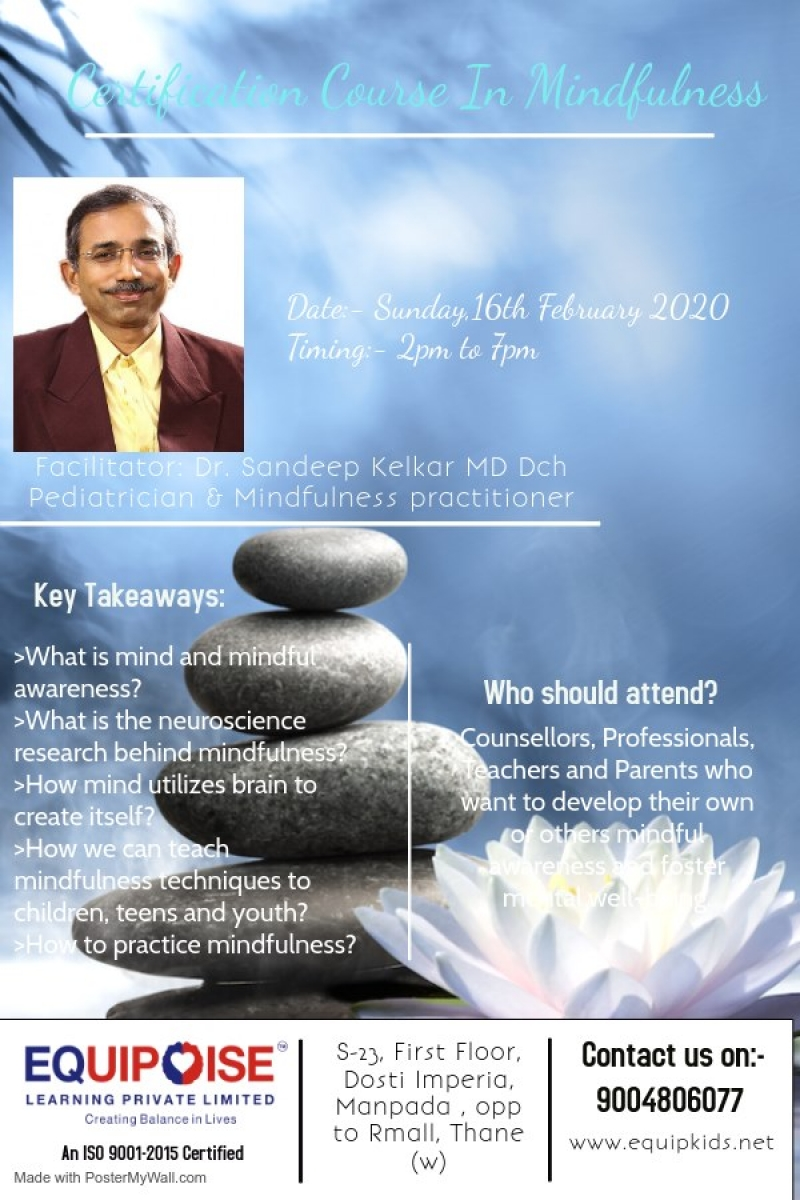 Certification Course in Mindfulness